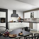 White softmatt kitchen