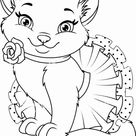 Free & Easy To Print Kitten Coloring Pages