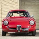 1960 Alfa Romeo Giulietta SZ Zagato   Студии