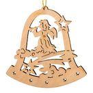 Christbaumschmuck Glocke Engel mit Horn