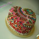 1000 ideas about beach theme cakes on pinterest beach - Jewel cake decorations ...