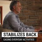Lower Back Pain Relief   Stabilizes Back   Relaxation Technique For Back Pain And Stress.