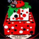 Ladybug Cakes