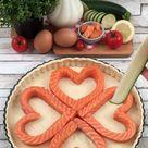 Quiche mit Lachs und Zucchini