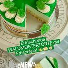 🐸🍰Erfrischende WALDMEISTERTORTE mit Fröschlein! Jetzt brandneu auf SUGARPRINCESS YOUTUBE! 🐸🍰👌🏼