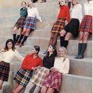 70s DEADSTOCK Knee High Socks Lot