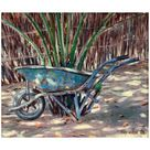 Giclee Painting: Willis' Wheelbarrow, 2005, 24x18in.