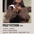 PULP FICTION 1994 POSTER