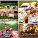 Picnic Wedding Receptions