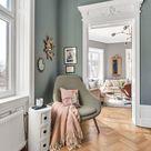 Moderne Wandfarbe | Farbkonzept | Gemütlicher Stuhl