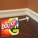 Cleaning Baseboards