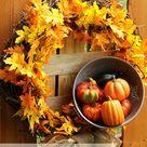 Easy Fall Wreaths