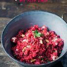 Couscous mit Rote Bete, Feta und Pinienkernen - Madame Cuisine