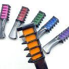 Temporary Hair Dye Comb   Orange