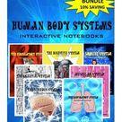 HUMAN BODY SYSTEMS INTERACTIVE NOTEBOOKS, BUNDLE 10% SAVING