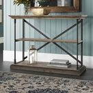 Letona 54'' Solid Wood Console Table