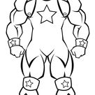 coloring pages  wcw