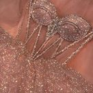 Hot pink sequins long prom dress party dress P3728 - Custom Color(Leave color in the seller box) / US 2