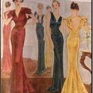 1931 Vintage VOGUE Sewing Pattern B36 DRESS (R825) Vogue 2241