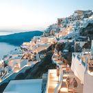 Evening in Santorini, Greece