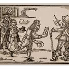 30cm Photo. The Humble Petition of Jock of Braid Scotland, 1648