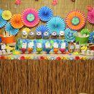 Luau Party Centerpieces