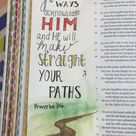 love this #bibleartjournaling