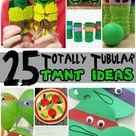25 Totally Tubular Teenage Mutant Ninja Turtle Ideas for Kids