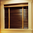 Clean Wood Blinds