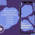 Empowered Women  Phone Wallpaper  Digital Download    Etsy
