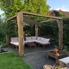 Pergola DIY #woodworking #diy #sonnensegel