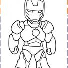iron man baby coloring pages - Free Kids Coloring Pages Printable