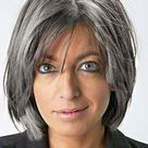 As Miriam O'Reilly says Fiona Bruce is right about going grey being bad for women on TV, we show what top talent might look like