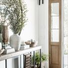 Modern Farmhouse Entry Decor