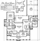 The St. James | Madden Home Design | Louisiana Style Homes