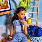 The artist Maria paints a landscape.Barbie dolls кукла куклы Барби Barbie aesthetic Dollskill autfit