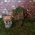 Miniature wishing well fairy garden well miniature fairy   Etsy