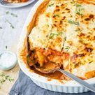 Zucchini-Lasagne mit Superfood-Soße