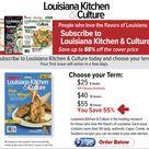 Subscribe to Magazine   Louisiana Kitchen & Culture