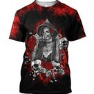 Tattoo girl is my love 3D all over printer shirts for man and women JJ251201 - T-Shirt / 4XL
