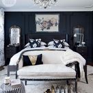Bedroom decor: Moody and dramatic master suite | Style at Home