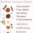 Apple Pie Spice Recipe - Easy Homemade Spice Blend