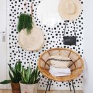 Polka Dot Wall Decals - Irregular Dot , Nursery Decals, Confetti Decals, Modern Wall Decals, Modern Decor, Vinyl Wall Decals polka dot 2