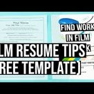 Film Production Resume Tips (PLUS Template)