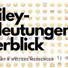ᐅ Emoji-Bedeutungen 😍 200 Bedeutungen für Whatsapp & Co.