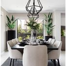 dining table decor everyday modern