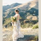 Golden editorial in the Santa Barbara, California mountains