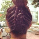 Braided Top Knots