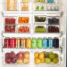 Clear Pantry Organizer Bins