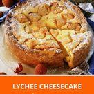 Lychee Cheesecake